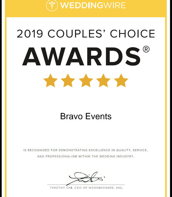 Wedding Wire: 2019 WeddingWire Couples' Choice Awards